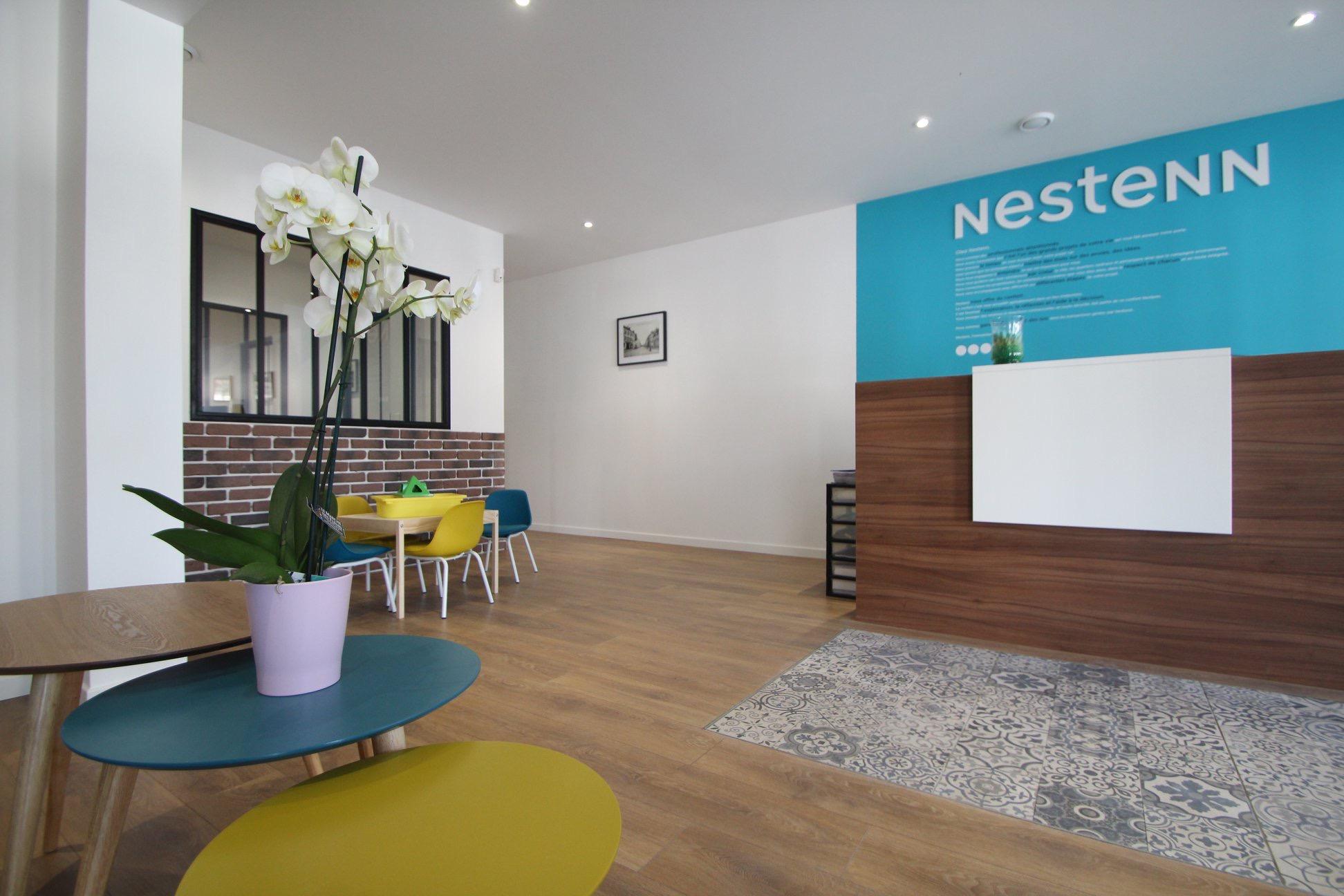 Rénovation et Inauguration agence immobilière Nestenn Magny-en-Vexin